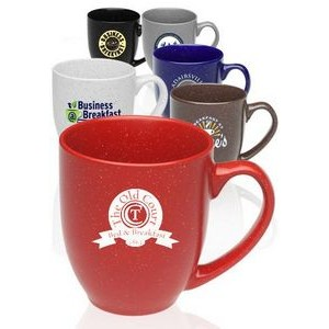 16 Oz. Newberry Speckle Bistro Ceramic Mugs